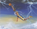 Electric Kobe (Canvas)