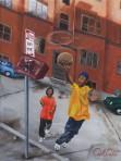 Street Ball (Canvas)