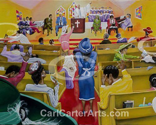 Church (GeeClay Canvas)